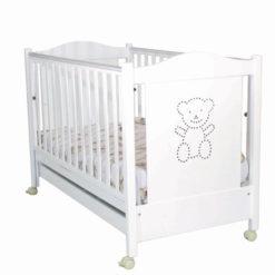 Παιδικό Κρεβάτι Delphinus Santa bebe