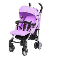 Παιδικό Καρότσι M15 Purple Carello με ποδόσακο και τσάντα