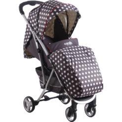 Παιδικό Καρότσι M18 Dots Carello με ποδόσακο και τσάντα + Δώρα αξίας 20€