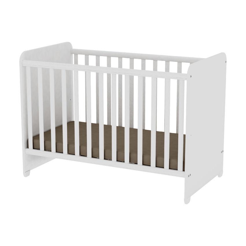 92090a89d9f Βρεφικό Κρεβάτι Sweet Dream 60x120 cm, White Lorelli | super baby