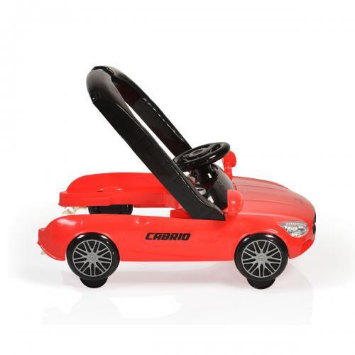 Cangaroo Περπατούρα Cabrio 2 σε 1 Red