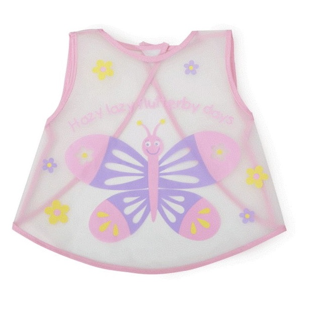 Cangaroo Σαλιάρα αδιάβροχη baby bib mealtime pink