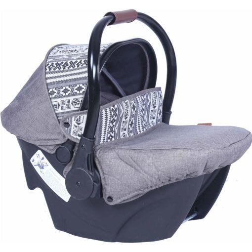 Παιδικό κάθισμα αυτοκινήτου Carello Cocoon 0+ Winter Grey 0-13 κιλά