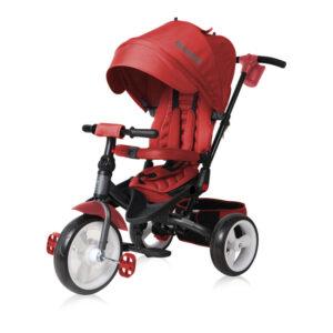 Lorelli τρίκυκλο ποδηλατάκι Jaguar Red + Δώρο ασφάλειες πρίζας