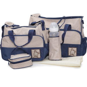 Cangaroo Σετ βρεφική τσάντα/Τσάντα αλλαξιέρα/Θερμός Stella Dark Blue