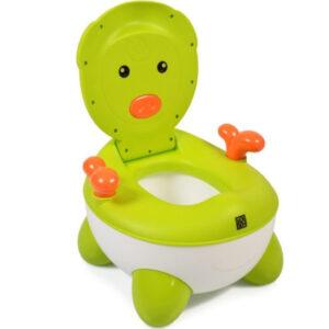 Cangaroo Γιο γιό – Τουαλέτα με Κάθισμα και Καπάκι Piglet Green