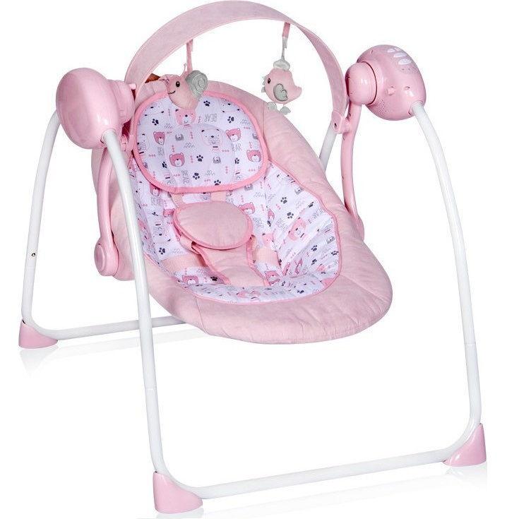 Ρηλάξ κούνια Portofino Pink Lorelli
