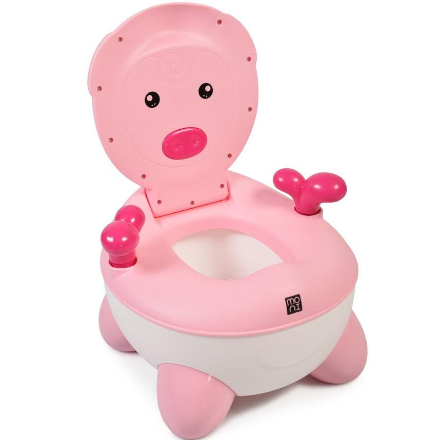 Cangaroo Γιο γιό – Τουαλέτα με Κάθισμα και Καπάκι Piglet Pink