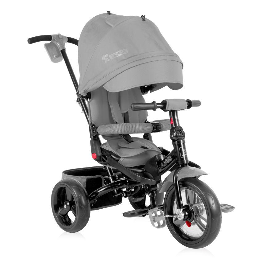 Lorelli τρίκυκλο ποδηλατάκι Jaguar Grey + Δώρο ασφάλειες πρίζας