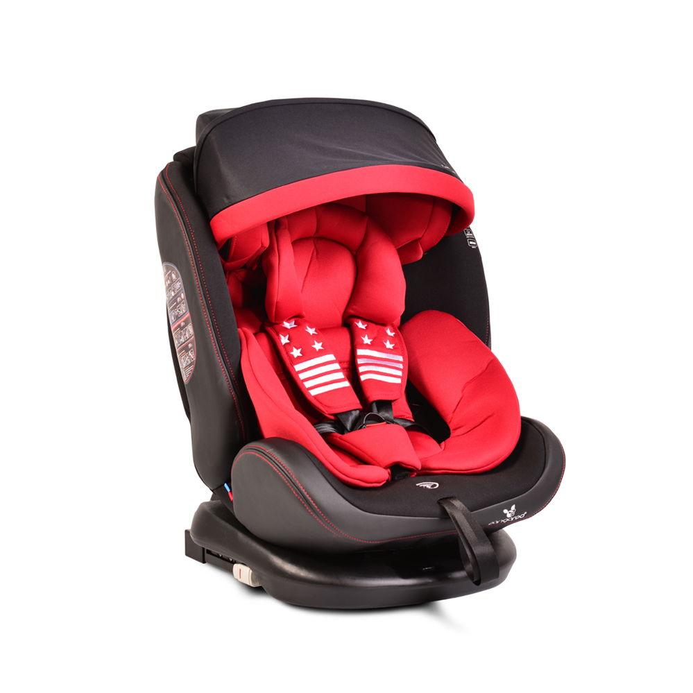 Παιδικό κάθισμα αυτοκινήτου 0-36 κιλά Isofix Pilot Red