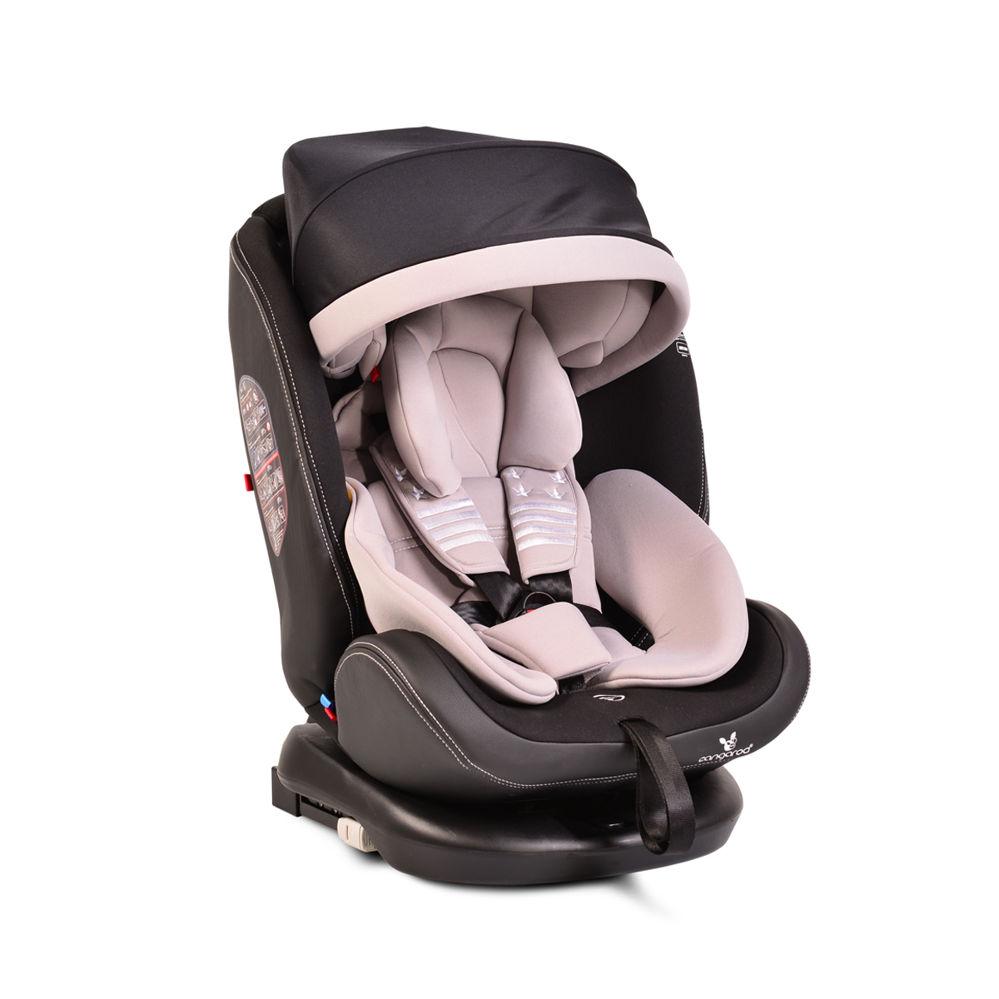 Παιδικό κάθισμα αυτοκινήτου 0-36 κιλά Isofix Pilot Grey