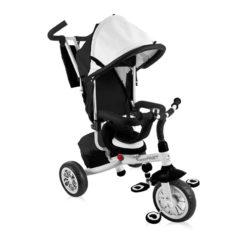Lorelli τρίκυκλο ποδηλατάκι Fast Black & White + Δώρο ασφάλειες πρίζας