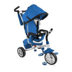 Lorelli τρίκυκλο ποδηλατάκι Fast Blue & White + Δώρο ασφάλειες πρίζας