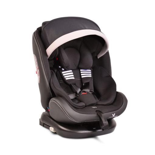 Παιδικό κάθισμα αυτοκινήτου 0-36 κιλά Isofix Pilot Black
