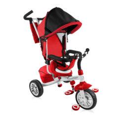 Lorelli τρίκυκλο ποδηλατάκι Fast Red & White + Δώρο ασφάλειες πρίζας
