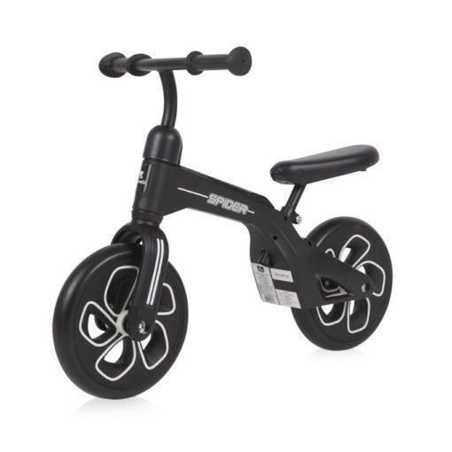 Ποδηλατάκι Ισορροπίας Spider Black Lorelli