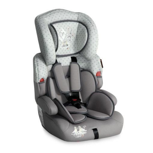 Lorelli Κάθισμα Αυτοκινήτου Kiddy 9-36kg Grey Travelling + (ΔΩΡΟ ασφάλειες πρίζας)