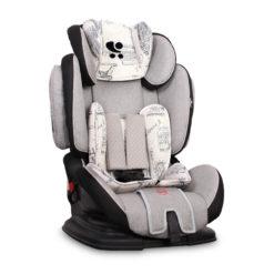 Lorelli Magic Premium + SPS Black&Grey Cities Παιδικό κάθισμα αυτοκινήτου 9-36 κιλά + (ΔΩΡΟ ασφάλειες πρίζας)