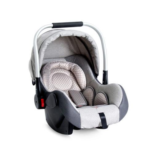 Κάθισμα Αυτοκινήτου Delta με ποδόσακο 0-13 kg Grey Lorelli