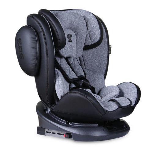 Κάθισμα Αυτοκινήτου Aviator SPS Isofix 0-36kg Black&Light Grey Lorelli