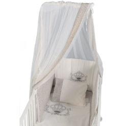 Cangaroo Προίκα μωρού 4 τμχ. 140/70 Royal + Βάση κουνουπιέρας