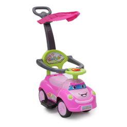 Αυτοκινητάκι-Περπατούρα Με φώτα και μουσική Smile Pink Cangaroo