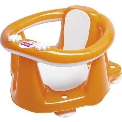 Παιδικό κάθισμα μπάνιου κλειστό FLIPPER EVOLUTION, Orange Ok baby