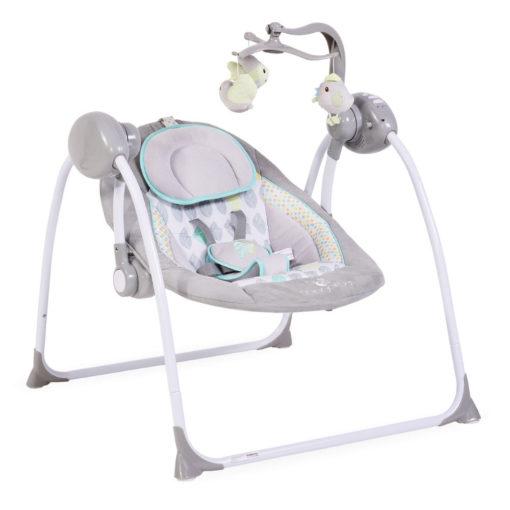 Ρηλάξ-Κούνια Baby Swing Plus Grey Cangaroo