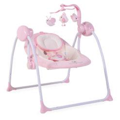 Ρηλάξ-Κούνια Baby Swing Plus Pink Cangaroo