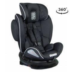 Κάθισμα Αυτοκινήτου Rotor SPS Isofix 0-36kg Black Dovadi