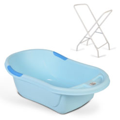 Μπανιέρα Βρεφική Με Βάση Lilly Full Blue Cangaroo