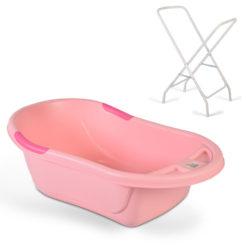 Μπανιέρα Βρεφική Με Βάση Lilly Full Pink Cangaroo