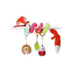 Παιχνίδι Καροτσιού / Κούνιας Spiral Toy Fox Lorelli