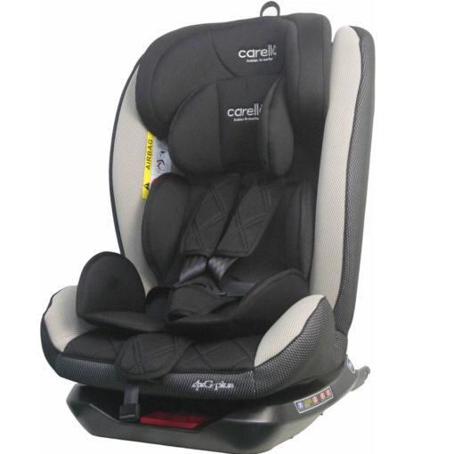 Κάθισμα Αυτοκινήτου 4g Plus Isofix 360° 0-36kg Beige Carello