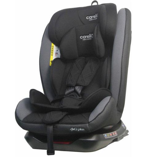 Κάθισμα Αυτοκινήτου 4g Plus Isofix 360° 0-36kg Grey Carello