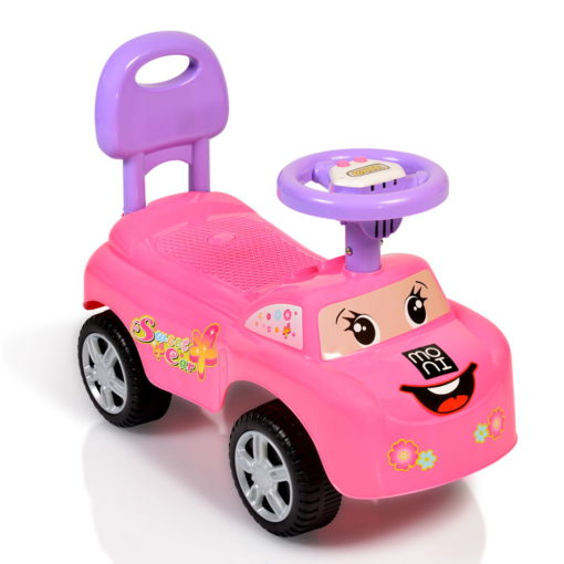 Moni Cangaroo Αυτοκινητάκι Keep Riding Pink