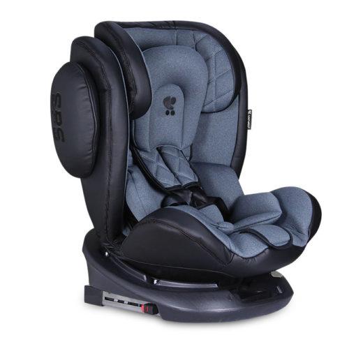 Κάθισμα Αυτοκινήτου Aviator SPS Isofix 0-36kg Black&Dark Grey Lorelli