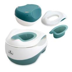 Γιο Γιο-Κάθισμα τουαλέτας-Σκαλοπάτι 3 σε 1 Lorelli set WC Transform Blue