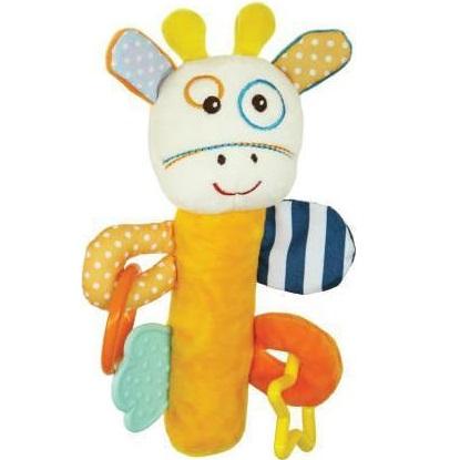 Kikka Boo Κουδουνίστρα Πίεσης Activity Squeaker Raffy Giraffe