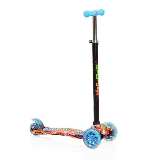 Πατίνι Scooter Rapture με Φωτιζόμενες Ρόδες Blue Byox Cangaroo