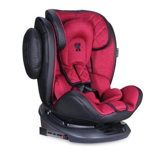Κάθισμα Αυτοκινήτου Aviator SPS Isofix 0-36kg Black&Red Lorelli