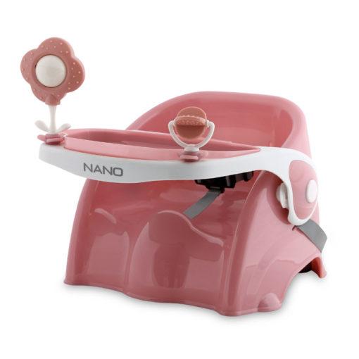 Καρεκλάκι Φαγητού Καρέκλας Nano Pink Lorelli 10100350003