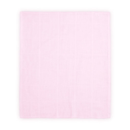 Lorelli 100 % Βαμβακερί Κουβερτούλα 75x100 εκατοστά Cotton Blanket Pink