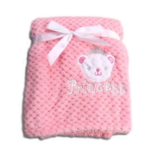 Κουβέρτα Fleece Αγκαλιάς 80 x 110cm Freya Pink Cangaroo 3800146264000