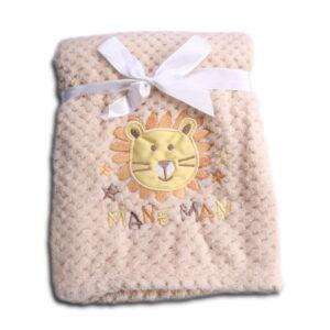 Κουβέρτα Fleece Αγκαλιάς 80 x 110cm Freya Beige Cangaroo 3800146263959
