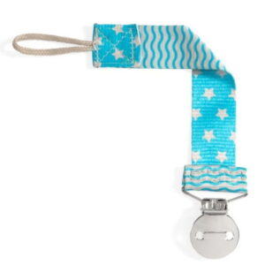 Chicco Fashion Κλιπ Πιπίλας Αγόρι Blue 1 τεμάχιο