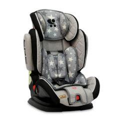 Lorelli Magic Premium + SPS Grey Stars Παιδικό κάθισμα αυτοκινήτου 9-36 κιλά 10070852015