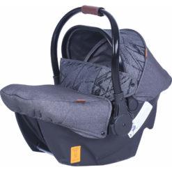Παιδικό κάθισμα αυτοκινήτου Carello Cocoon 0+ Lava Black 0-13 κιλά