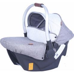 Παιδικό κάθισμα αυτοκινήτου Carello Cocoon 0+ Silver Grey 0-13 κιλά