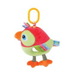 Λούτρινο Παιχνίδι Δραστηριοτήτων Rooster Μουσικό 32cm Lorelli 10191270003